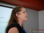 Julia Meszaros at the 2017 Dating Agency Business Conference in Misnk, Belarus