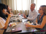 Lunch at the July 19-21, 2017 Misnk, Belarus Premium International Dating Industry Conference