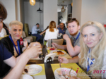 Lunch at the July 19-21, 2017 Premium International Dating Business Conference in Misnk, Belarus