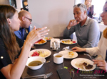 Lunch at the 49th Dating Agency Business Conference in Misnk, Belarus